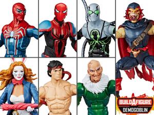 Marvel Legends Spider-Man: SERIE COMPLETA (Demogoblin BAF) by Hasbro