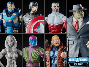 Marvel Legends Avengers: SERIE COMPLETA (Joe Fixit BAF) by Hasbro