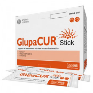 GLUPACUR (60 stick orali) – Contro l'osteoartrite di cani e gatti