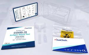 JUSCHEK TEST RAPIDO ANTIGENE COVID-19 - FLUIDO ORALE SALIVARE
