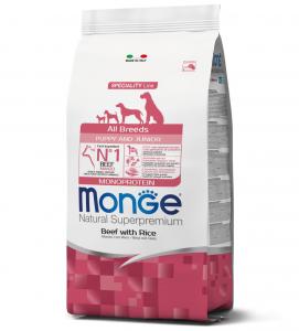 Monge - Natural Superpremium - All Breeds - Puppy&Junior - 12 kg