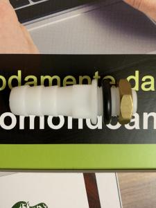 USCITA PORTAGOMMA 10 mm + Dado in Ottone