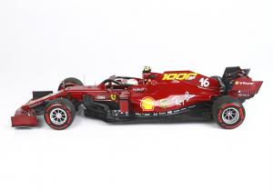 Ferrari SF1000 Tuscan Gp 2020 C. Leclerc Polyfoam Packaging- 1/18 BBR