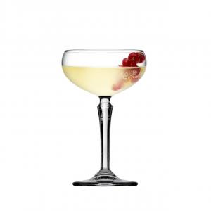 Set di 6 pezzi Coppa Champagne in vetro trasparente cl 22 Hudson