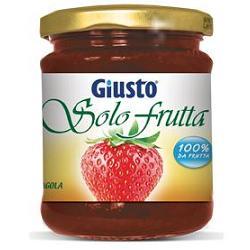 GIUSTO SOLO FRUTTA MARMELLATA FRAGOLA