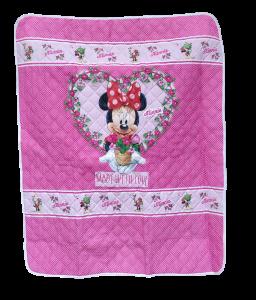 Trapuntino + paracolpi neonato Culla Lettino doghe Set Minnie Mouse Disney Baby