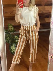 Pantalone righe Tensione In