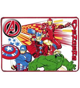 Borraccia in allumino con portamerenda e tovaglietta Avengers