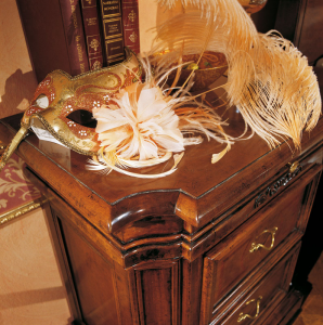 Table de chevet 3 tiroirs Bella Venezia