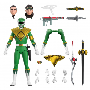 *PREORDER* Mighty Morphin Power Rangers Ultimates: GREEN RANGER by Super7