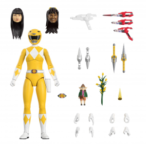 *PREORDER* Mighty Morphin Power Rangers Ultimates: YELLOW RANGER by Super7
