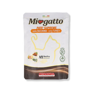 MIOGATTO PATE' TACCHINO 85 G