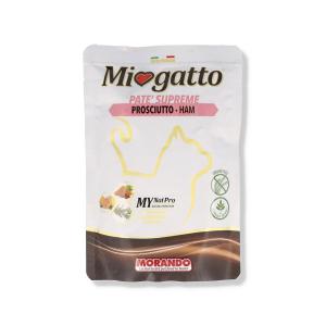 MIOGATTO PATE' PROSCIUTTO 85 GR