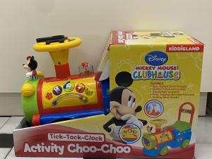Primi passi trenino Mickey Mouse