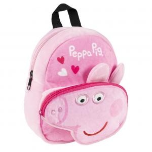Zaino Peppa Pig peluche dim. 22x18x8 cm