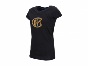Inter maglietta manica corta donna XS S L nera