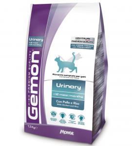 Gemon Cat - Urinary - Pollo e Riso - 1.5 kg