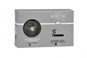 Diffusore per auto con fragranza anti odori tabacco Boisee Maison Berger Paris