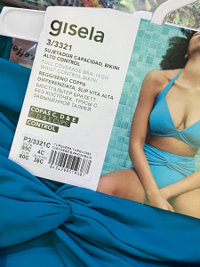 Bikini Taglie Forti Gisela  Coppe 5 D