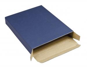 Scatola cartoncino blu