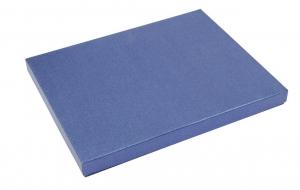 Scatola rettangolare cartoncino blu