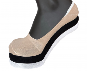 6 Paia di calzini salva piede invisibile uomo cotone VIRTUS