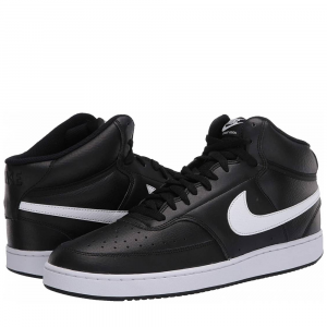 Nike Court Vision Mid Black/White