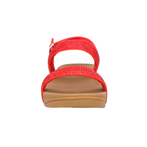 FitFlop - LOTTIE SHIMMERCRYSTAL BACK-STRAP - PASSION RED