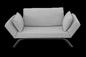 Divano Letto 2 Posti moderno di Design Scandinavo Braccioli regolabili con Cuscini   LIV