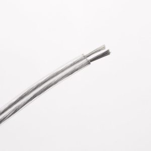 Cavo elettrico piattina PVC 2x0,75 trasparente