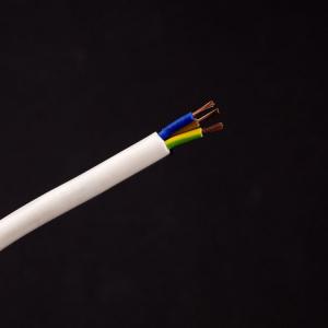 Cavo tondo PVC+PVC bianco 3x1,5 mmq
