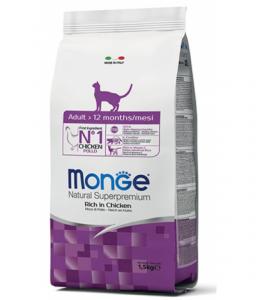Monge Cat - Natural Superpremium - Adult - Pollo - 10 kg
