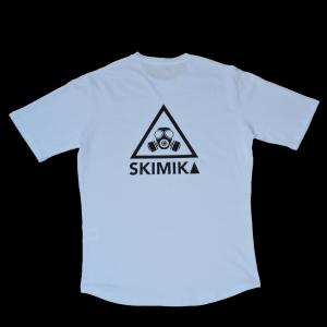 WHITE T-SHIRT - TIME TO REFLEX