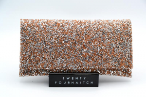 Twenty Fourhaitch-Pochette Donna Ely-Cristal/Copper