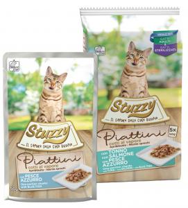 Stuzzy Cat - Piattini - Adult - 3 x 5 buste da 50g