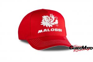 M413431 CAPPELLINO MALOSSI ROSSO BIANCO