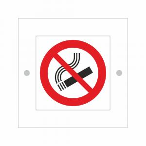 Cartello in plexiglass serie Avantgarde Vietato fumare