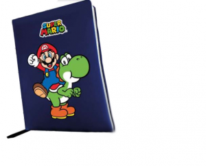Zaino Estensibile Astuccio Triplo Diario Super Mario e Luigi 2021/2022