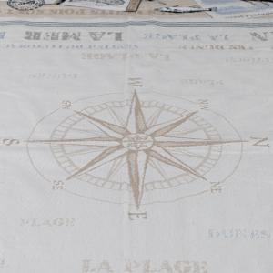 Copritavolo Marina Gobelin cotone tinto in filo pesante da arredo