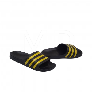Adidas Ciabatte Adilette Aqua Black/Gold