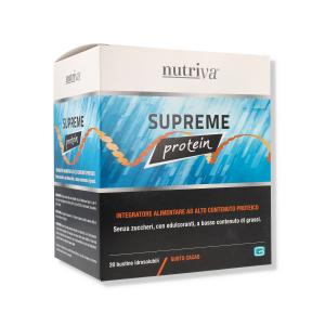 NUTRIVA SUPREME PROTEINE CACAO 20 BUSTEX20GR - 400GR