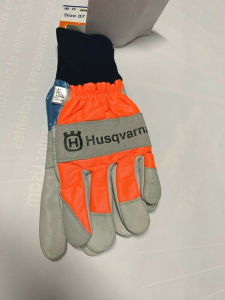 Guanti da lavoro protettivi Husqvarna in pelle -Tg.7- 505 64 20-07