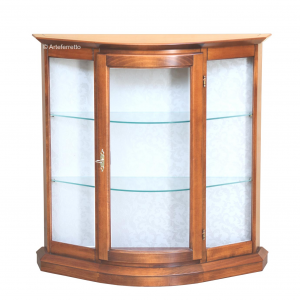 Petite vitrine basse profondeur contenue