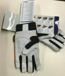 Guanti Husqvarna Technical con Protezione Antitaglio EN381-7 EN388 EN420-Tg.10