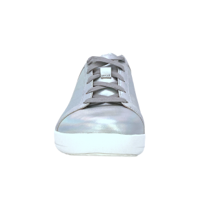 FitFlop - F-SPORTY TM II LACE UP SNEAKERS IRIDESCENT - Argento