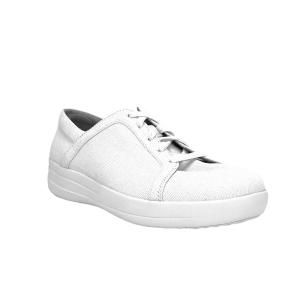 FitFlop - F-SPORTY TM II LACE UP SNEAKERS SHIMMER - Bianco