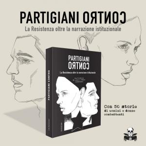 Libro + Maglietta Partigiani Contro