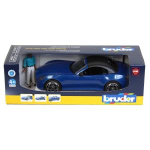 BRUDER - 03481 Roadster Blue + Omino
