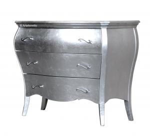 Cómoda abombada - pan de plata - 107 x 51 x 85