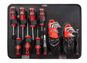 Set bussole e utensili manuali in valigetta 153 pz - Lti 64230303